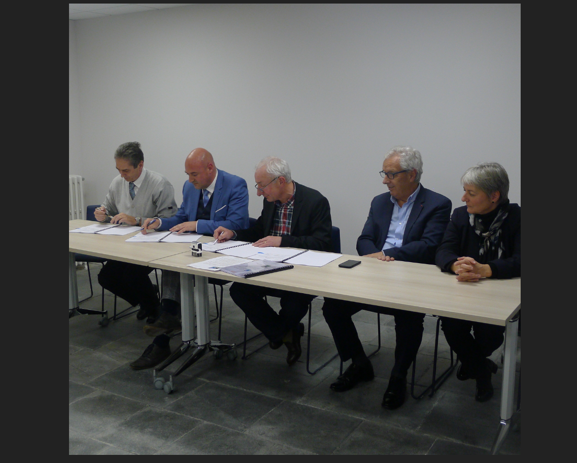 Signature de la Convention Territoriale Globale